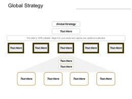 Global Strategy Ppt Powerpoint Presentation Infographic Template Graphics Template Cpb