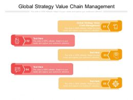 Global Strategy Value Chain Management Ppt Powerpoint Presentation Outline Layouts Cpb