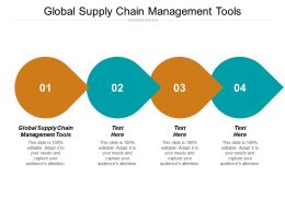 Global Supply Chain Management Tools Ppt Powerpoint Presentation Icon Deck Cpb