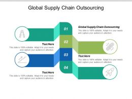 Global Supply Chain Outsourcing Ppt Powerpoint Presentation Gallery Graphics Pictures Cpb