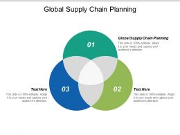 Global Supply Chain Planning Ppt Powerpoint Presentation Gallery Graphics Tutorials Cpb