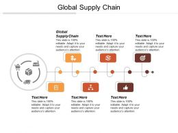 Global Supply Chain Ppt Powerpoint Presentation File Formats Cpb
