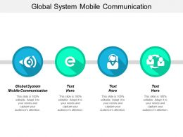 Global System Mobile Communication Ppt Powerpoint Presentation Model Sample Cpb