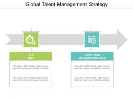 Global Talent Management Strategy Ppt Powerpoint Presentation File Vector Cpb