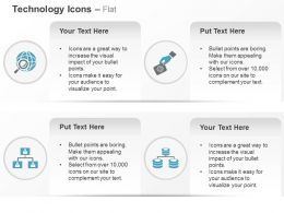 Global Technology Hierarchy Database Ppt Icons Graphics