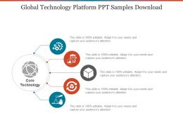 Global Technology Platform Ppt Samples Download