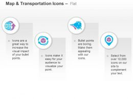Global Tour Travel Train Product Delivery Ppt Icons Graphics