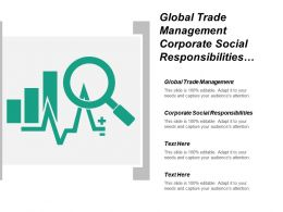 Global Trade Management Corporate Social Responsibilities Organizational Development Cpb