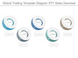 Global Trading Template Diagram Ppt Slides Download