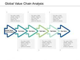 Global Value Chain Analysis Ppt Powerpoint Presentation Styles Inspiration Cpb