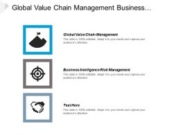Global Value Chain Management Business Intelligence Risk Management Cpb