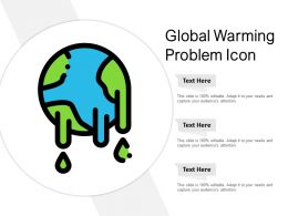 Global Warming Problem Icon