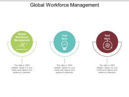 Global Workforce Management Ppt Powerpoint Presentation File Slide Download Cpb
