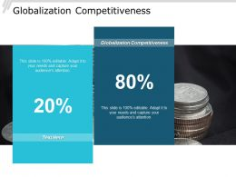 Globalization Competitiveness Ppt Powerpoint Presentation Gallery Graphics Cpb