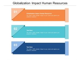 Globalization Impact Human Resources Ppt Powerpoint Presentation File Master Slide Cpb