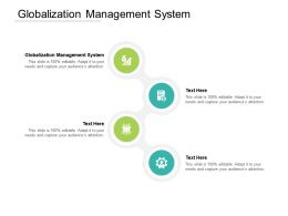 Globalization Management System Ppt Powerpoint Presentation Layouts Master Slide Cpb