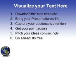 Globe1 0409  Presentation Themes and Graphics Slide03