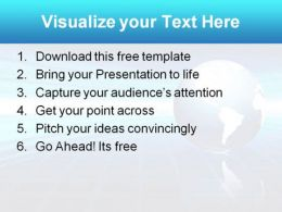 Globe2 0409  Presentation Themes and Graphics Slide03