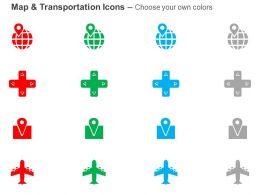 globe_cross_gps_location_air_travel_ppt_icons_graphics_Slide02