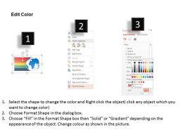 49025689 Style Essentials 1 Our Vision 5 Piece Powerpoint Presentation Diagram Infographic Slide