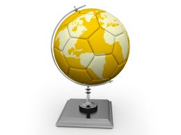 Globe Soccer Awards Stock Photo