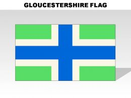 Gloucestershire Country Powerpoint Flags