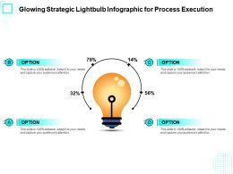 Glowing Strategic Lightbulb Infographic For Process Execution