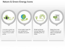 Go Green Campaign Global Energy Conservation Ppt Icons Graphics