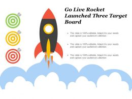 Go Live Rocket Launched Three Target Board