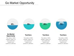 Go Market Opportunity Ppt Powerpoint Presentation Gallery Deck Cpb