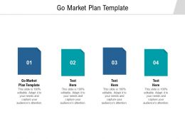 Go Market Plan Template Ppt Powerpoint Presentation Infographics Structure Cpb