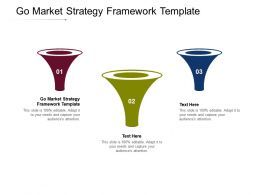 Go Market Strategy Framework Template Ppt Powerpoint Presentation Icon Graphics Design Cpb
