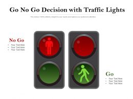 Go No Go Decision With Traffic Lights