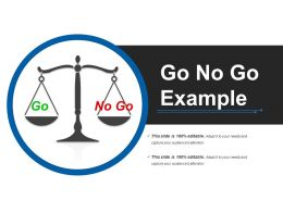 Go No Go Example