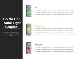Go No Go Traffic Light Graphic