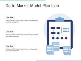 Go To Market Model Plan Icon