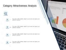 Go To Market Product Strategy Category Attractiveness Analysis Ppt Ideas