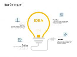 Go To Market Product Strategy Idea Generation Ppt Template