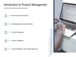 Go To Market Product Strategy Introduction To Product Management Ppt Icons