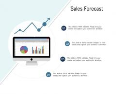 Go To Market Product Strategy Sales Forecast Ppt Designs
