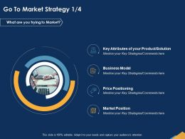 Go To Market Strategy Attributes Ppt Powerpoint Presentation Influencers