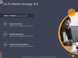 Go To Market Strategy Audience Product Category Attractive Analysis Ppt Sample