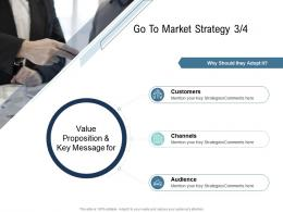 Go To Market Strategy Customers Ppt Demonstration