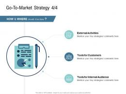 Go To Market Strategy Internal Audience Ppt Themes