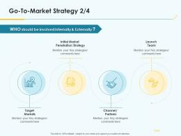 Go To Market Strategy Penetration Ppt Template