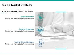 Go To Market Strategy Powerpoint Templates