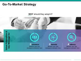 Go To Market Strategy Ppt Examples Slides