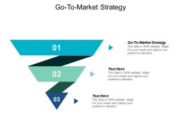 Go To Market Strategy Ppt Powerpoint Presentation Styles Graphics Tutorials Cpb