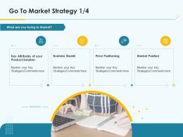 Go To Market Strategy Product Pricing Strategy Ppt Summary
