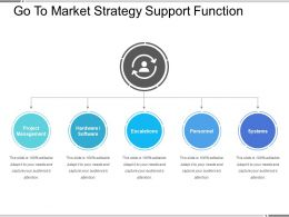 Go To Market Strategy Support Function